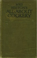 Mrs Beeton's All About Cookery